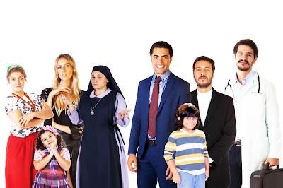 Fátima, Duda, Nicole  e Irmã Rita enfrentam  Gustavo, Miguel,  Padre Gabriel e Dr. André - Crédito:Divulgação/SBT