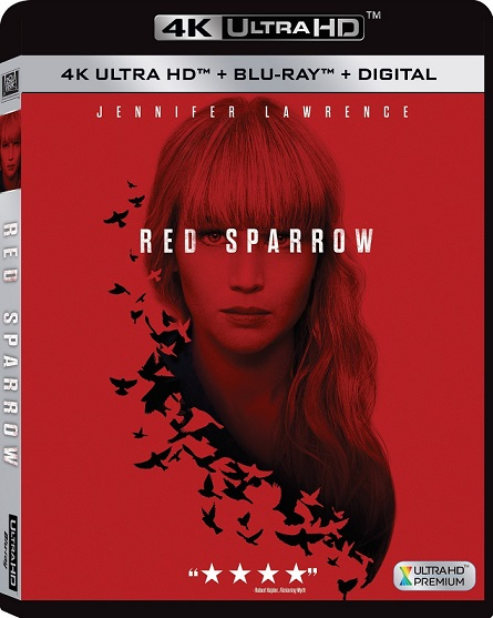 Red Sparrow 4K (Operación Red Sparrow 4K) (2018) 2160p 4K UltraHD HDR BluRay REMUX 50GB mkv Dual Audio Dolby TrueHD ATMOS 7.1 ch