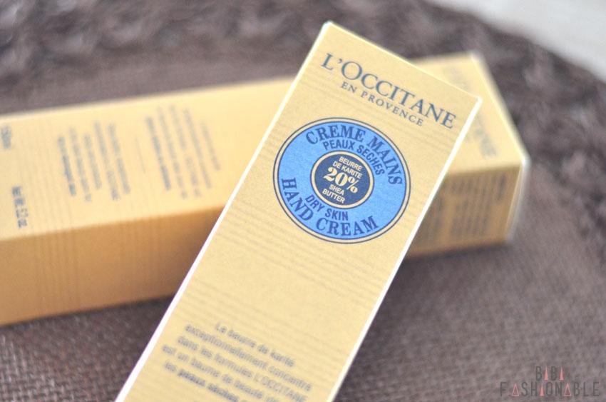 L'Occitane Handcreme Verpackung