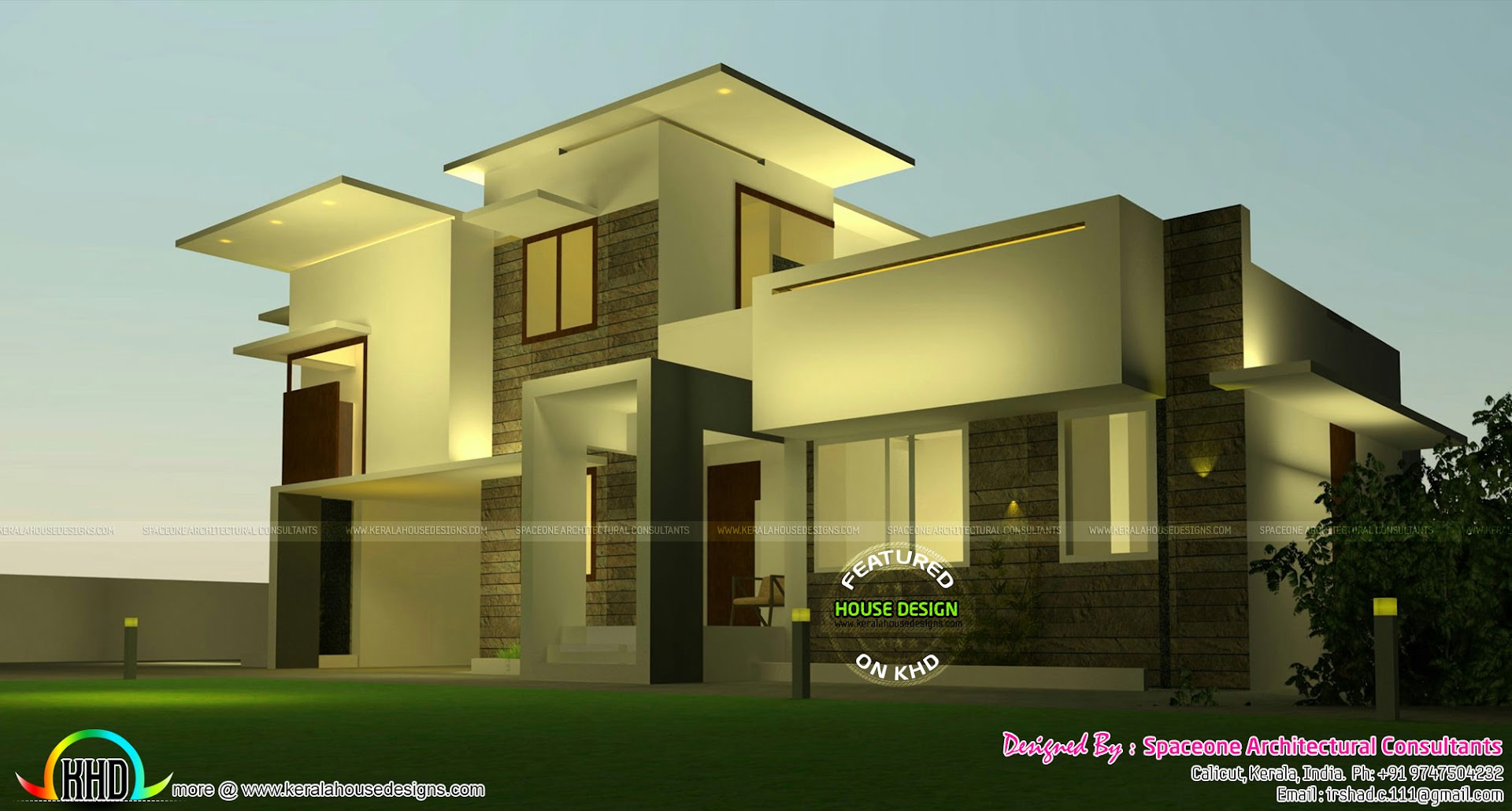 No Of Bedrooms 4 Bathrooms Attached Floors 2 Design Style Modern Box Model