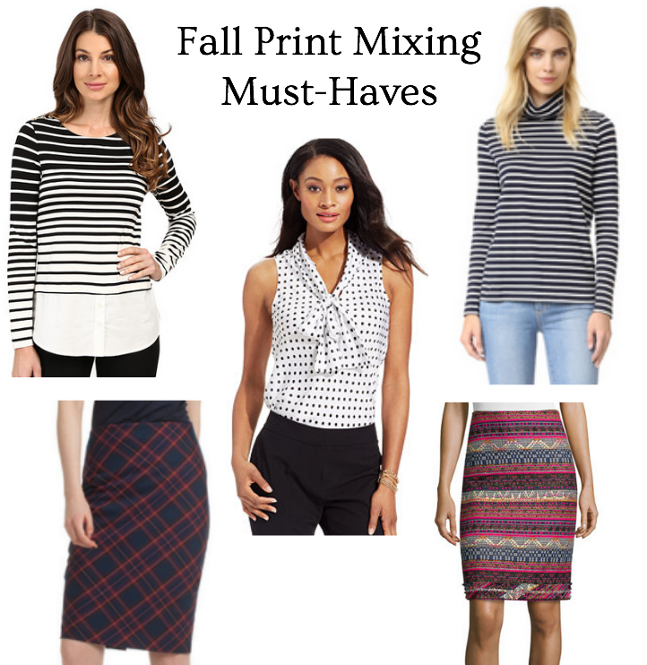 style tips on print mixing items