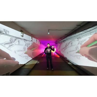Ben Heine Art Exhibitions in Russia - Бен Хайне Россия - Pencil Vs Camera - Карандаш против камеры 2015 - Ben Heine photos from Fans