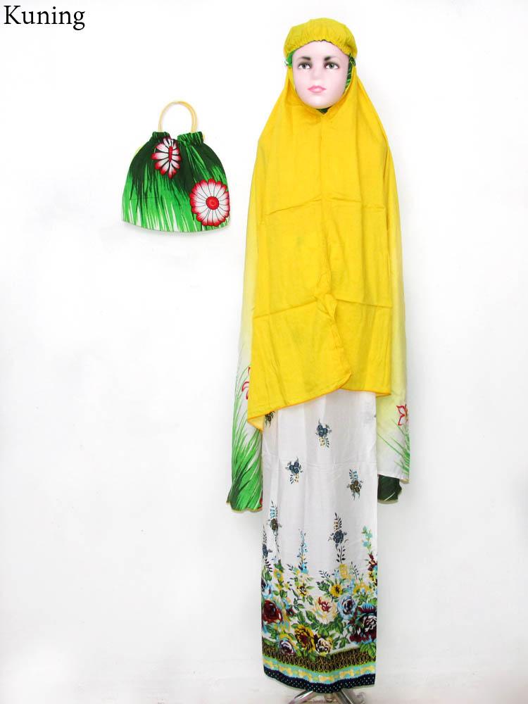 Mukena Cantik Anak MKA30 - Busana Pakaian Terbaru