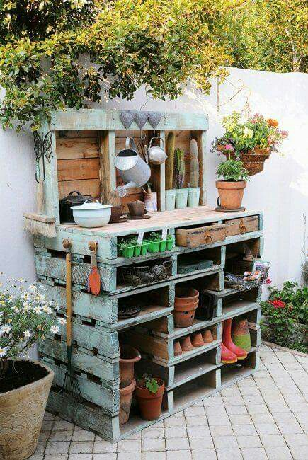 Cultivate Create: 10 Functional and Fabulous Potting Benches