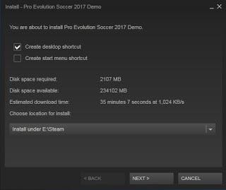 Cara Install Pro Evolution Soccer (PES) 2017
