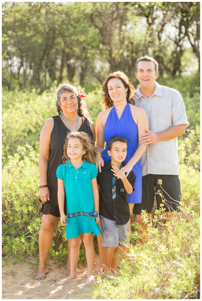 Maui Beach Family Portrait
