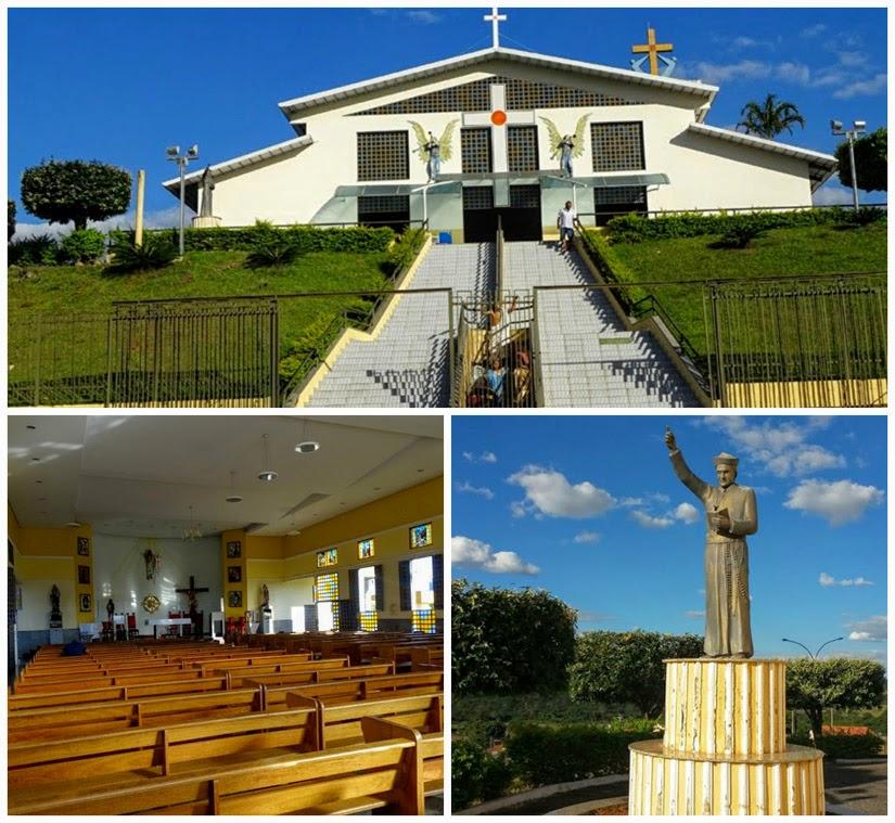 Igreja do Santíssimo Redentor (Padre Pelágio) - Trindade Goiás