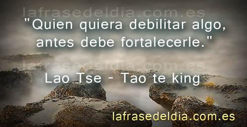 Citas de Lao Tse – Tao Te-King