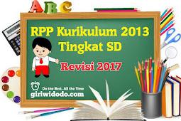 RPP Kurikulum 2013 SD Kelas 5 Semester 1 dan 2 Revisi 2017
