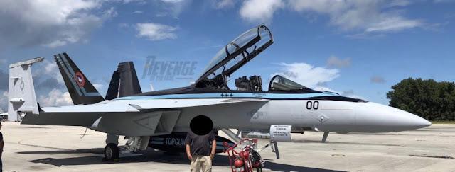 Top Gun Maverick revelado o F-18 do Capitão Pete Mitchell