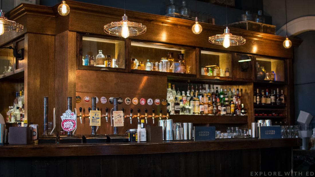 Locke & Remedy drinks menu