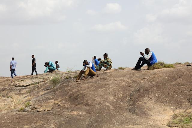heavenly reward at the top of Oke Agidan