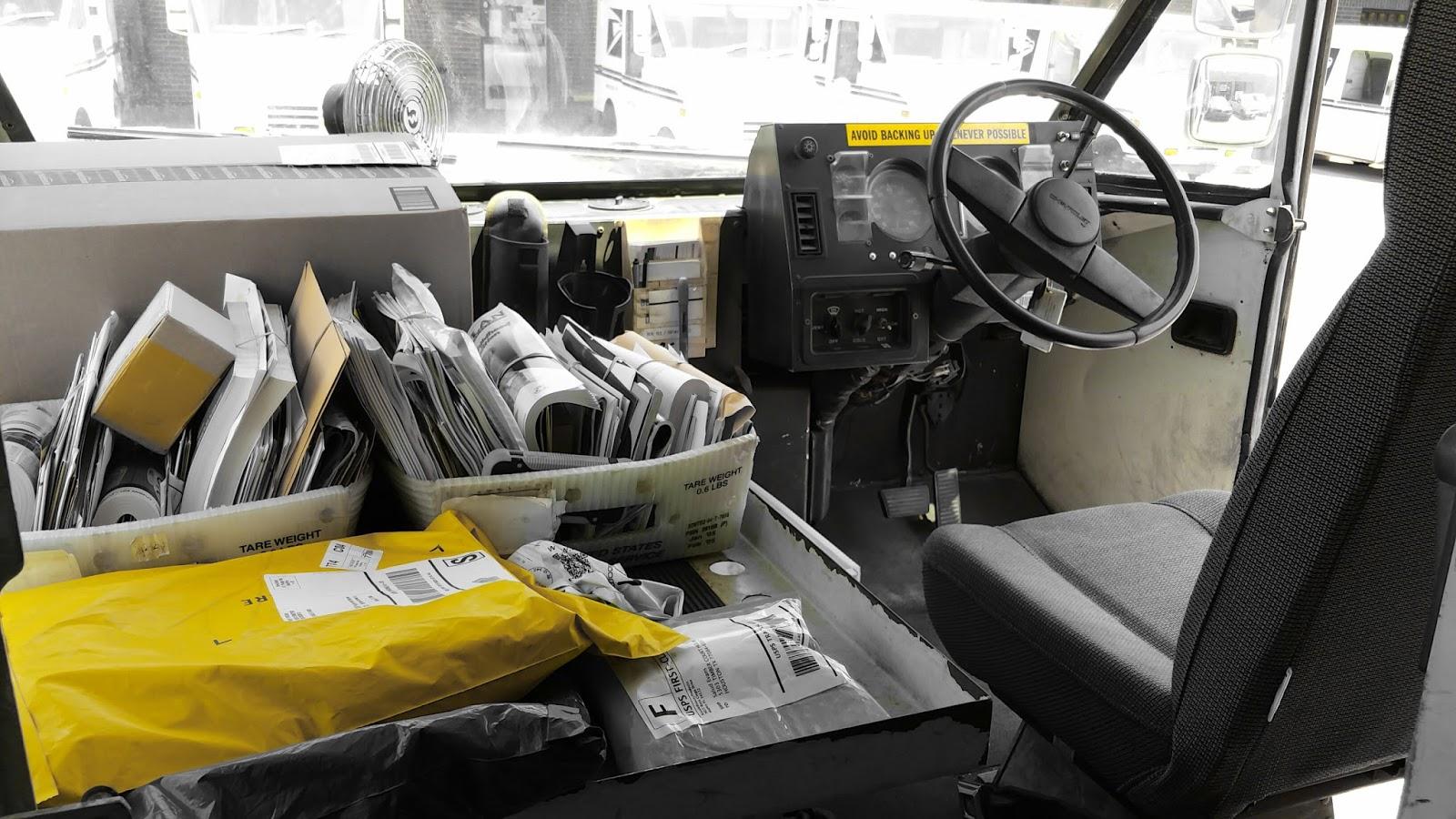 Brent's Blog: Going Postal