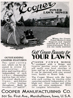 Cooper Power Lawn Mower