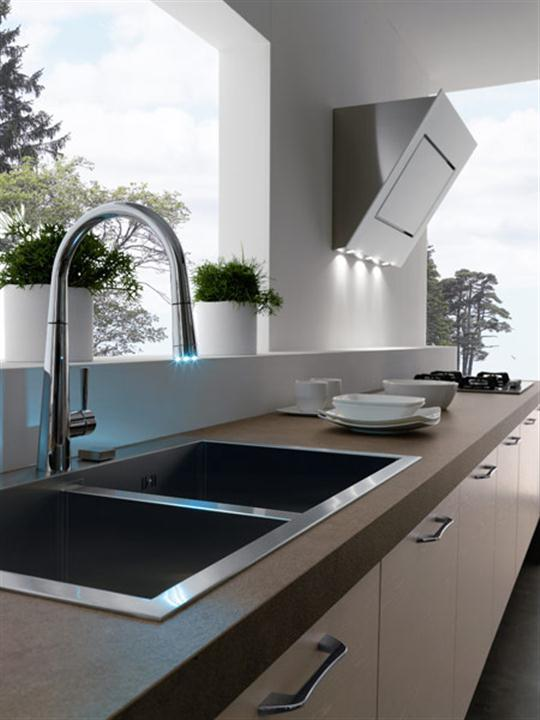 kitchen sink without cabinet brighton contemporary and modern italian kitchen design 6048