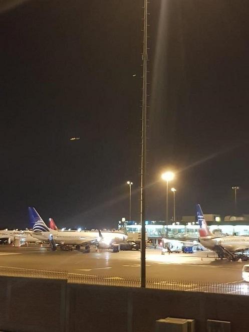 Aeroporto Jorge Chávez avvistato un ufo