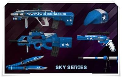 Senjata seri Sky dan Seri Sakura