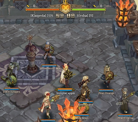 Tree of Savior Guild Battle