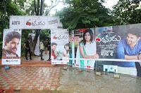 Pujita Ponnada in transparent sky blue dress at Darshakudu pre release ~  Exclusive Celebrities Galleries 153.JPG