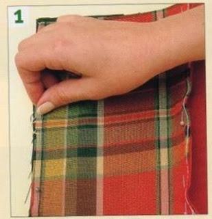 Como hacer un mantel para picnic mimundomanual - Hacer un mantel ...