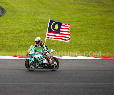 Hafizh Syahrin Di Sepang 2016 Bendera Malaysia
