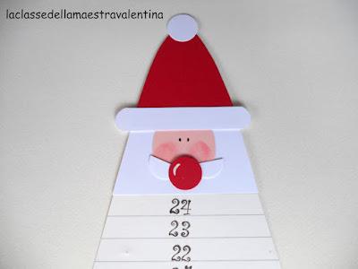 La classe della maestra valentina calendario dell avvento 2 for Maestra valentina estate