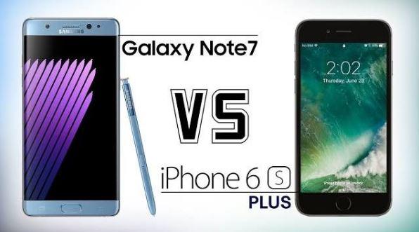 Samsung Galaxy Note 7 vs iPhone 6S Plus | Quale comprare? Video confronto