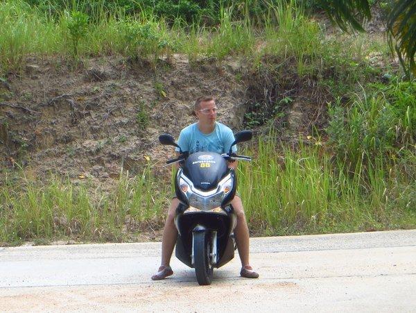 Honda pcx остров Панган, таиланд