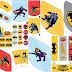 Batman Retro: Kit para Imprimir Gratis.