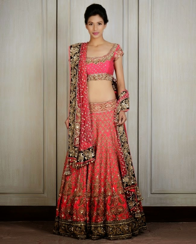 Manish Malhotra\'s Couture Wedding Collection 2014 l Indian Anarkali ...