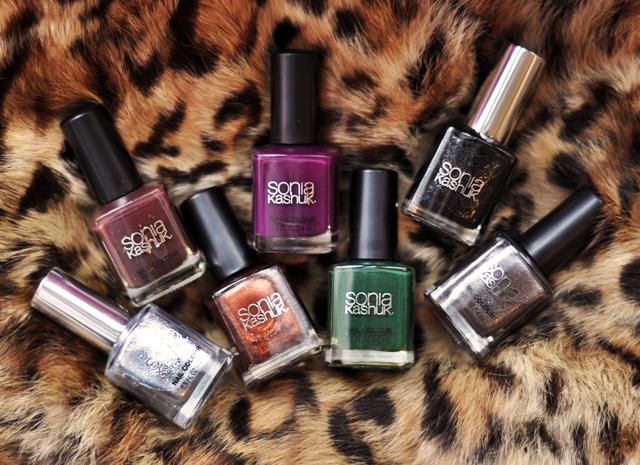 Sonia Kashuk Makeup, jewel tones