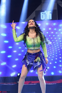 Sunny Leone Dancing on stage At Rogue Movie Audio Music Launch ~  308.JPG