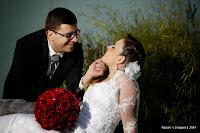 Fotografia do Fotografo de Casamento Aldenia e Marcelo Paróquia Bom Pastor e Rotary Clube Suzano-SP