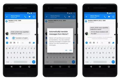 Keren! Kini Facebook Messenger Bisa Terjemahkan Bahasa Otomatis