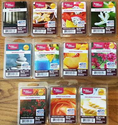 Better Homes & Gardens Scented Wax Melts - Early Spring 2016