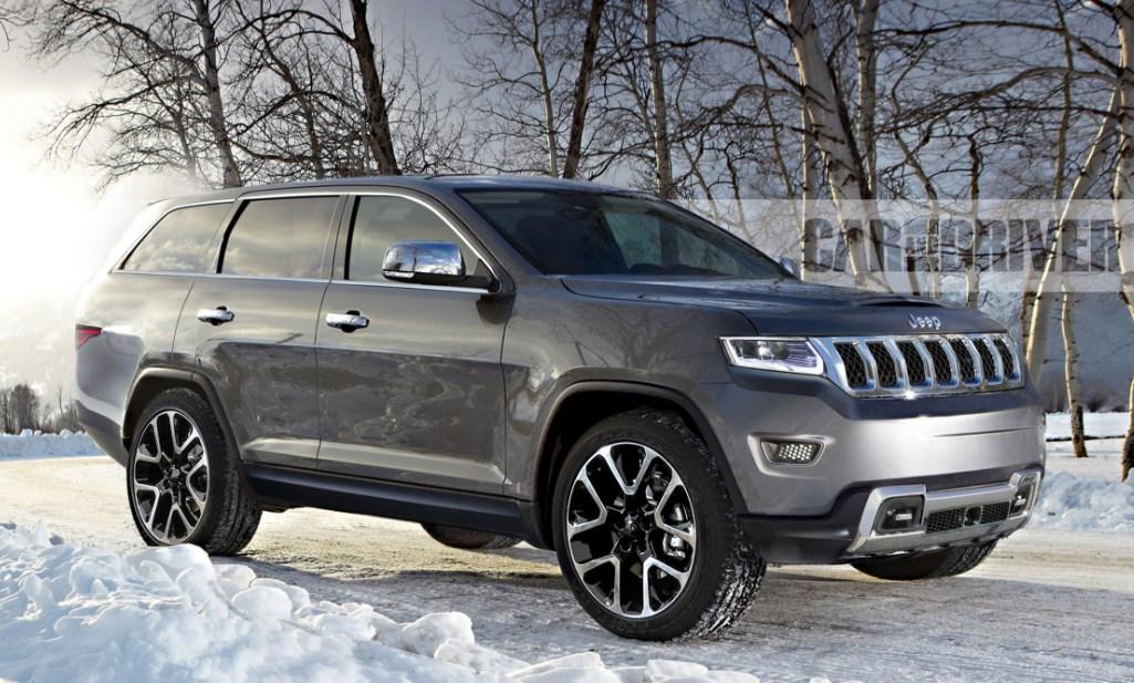 2020 Jeep Grand Wagenoor Redesign