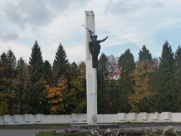 Самбір. Військовий меморіал Другої світової війни