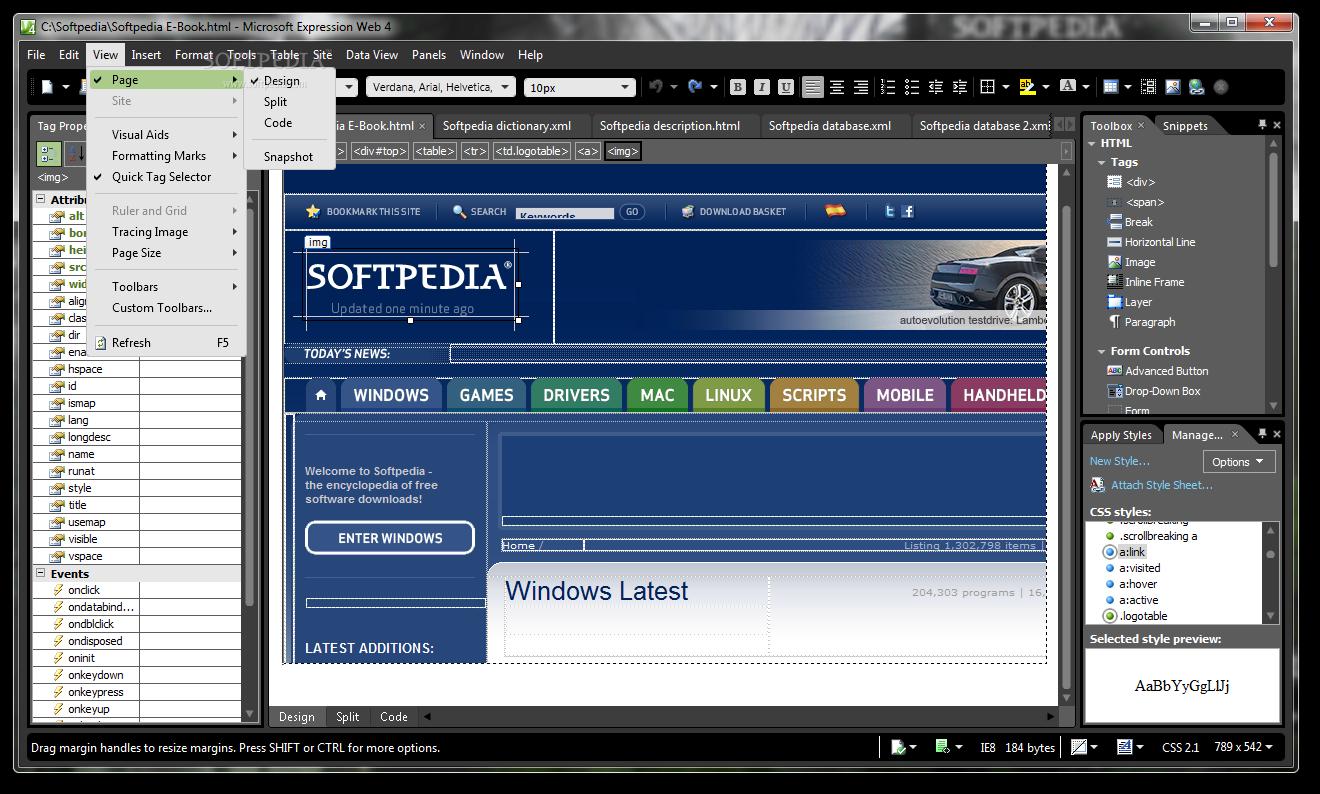 Download Php Designer