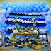 Aniversário de um ano com decoração Fundo do Mar!