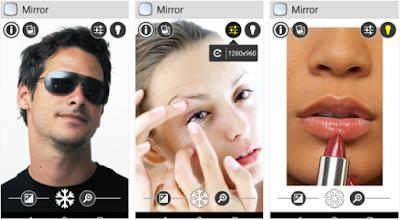 aplikasi cermin android terbaik smartphone