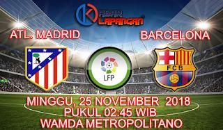 Prediksi Bola Atletico Madrid vs Barcelona 25 November 2018