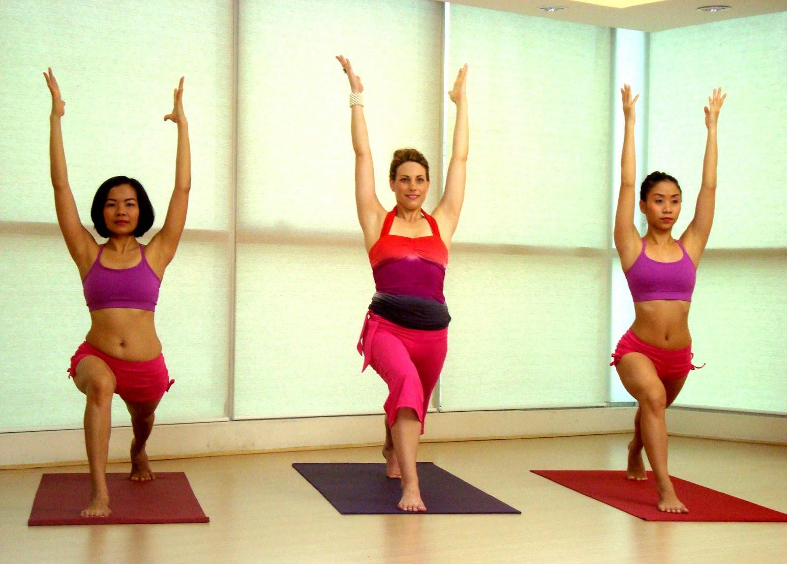 Йога влияет на похудение