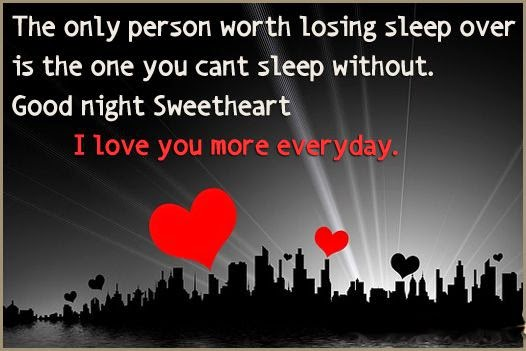 Goodnight Sweetheart Quotes famous good night love...