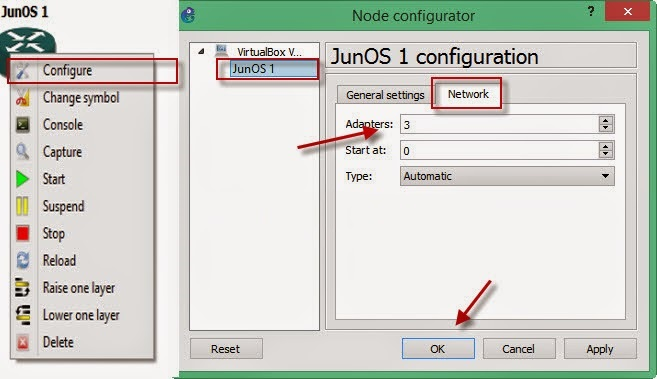 How to install Juniper ios in GNS | Online Networks Solution