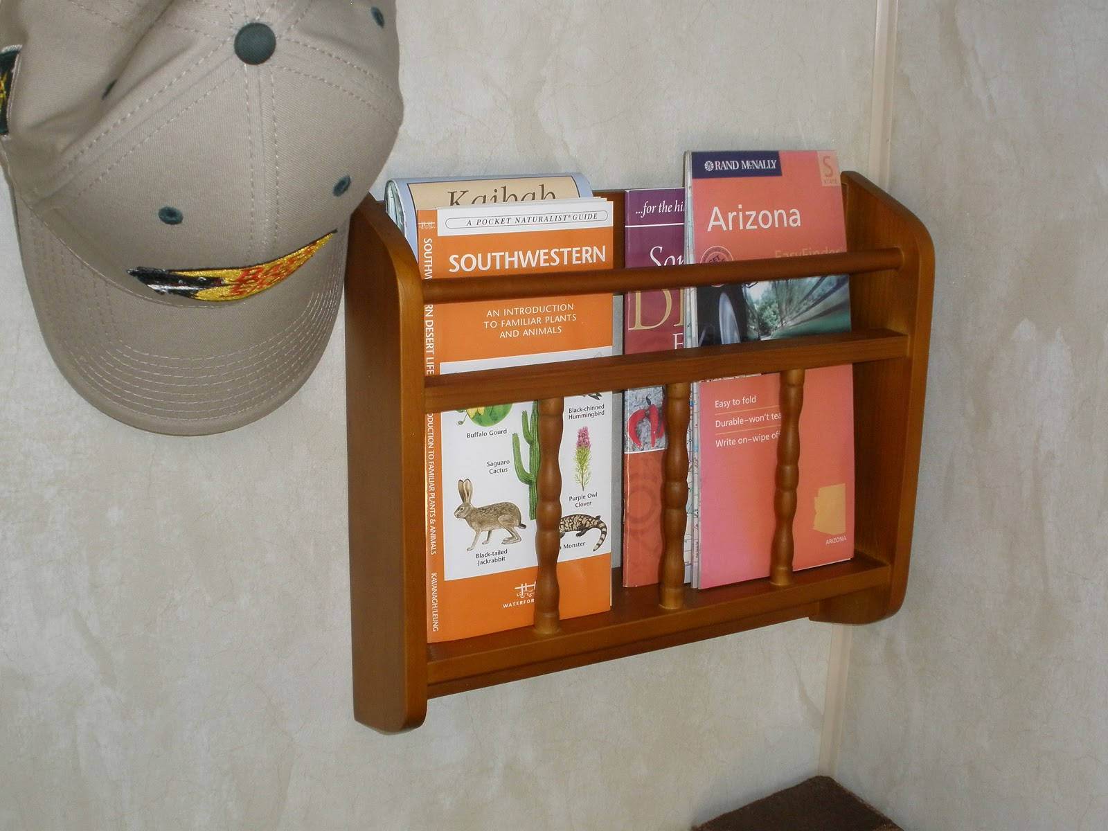 decorative mount design magazine rack for wall furniture interior display white