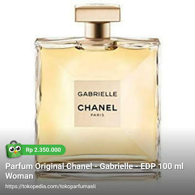 toko parfum asli parfum original chanel gabrielle edp 100ml woman