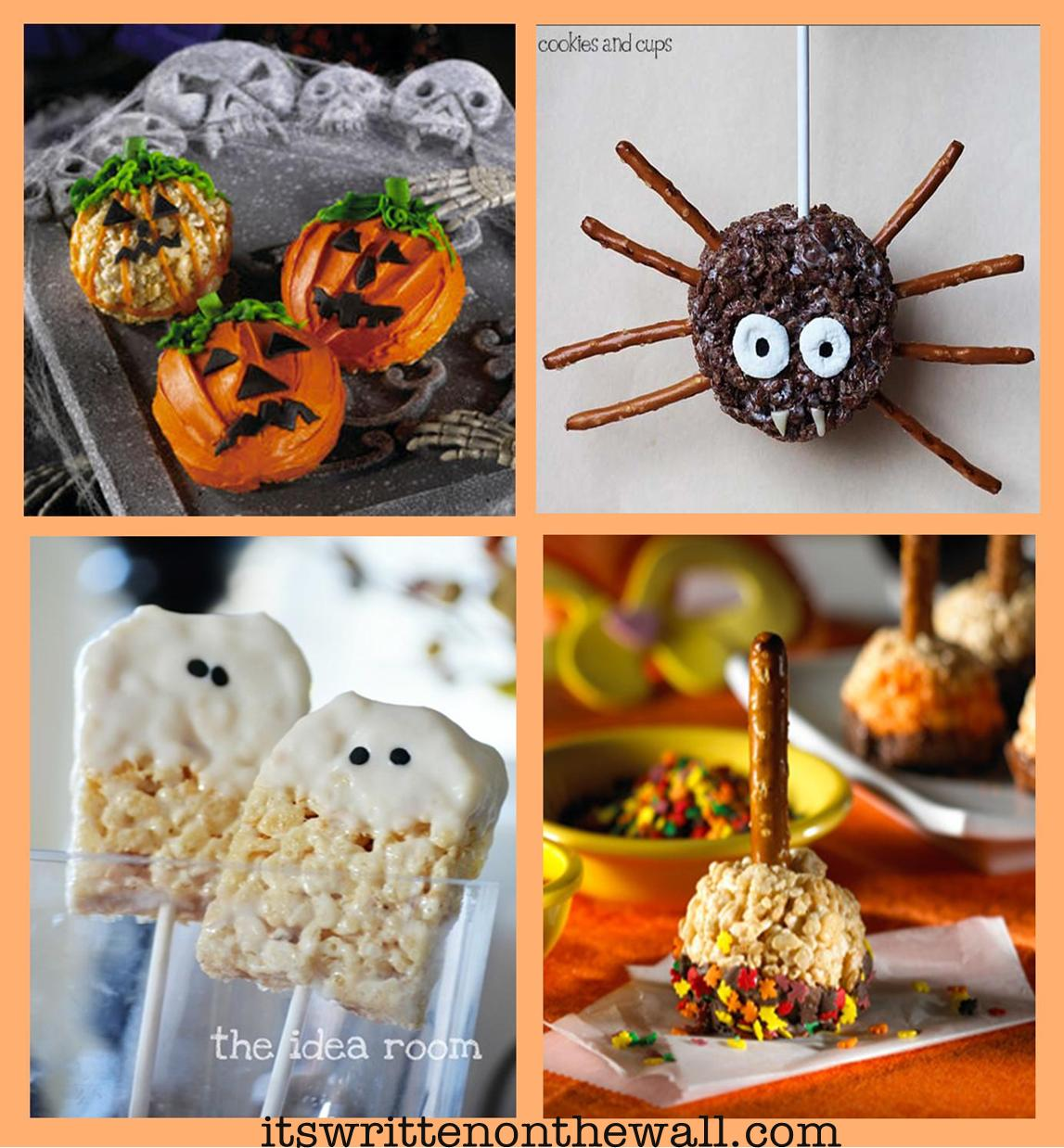 snack o lantern treats spider ghosts chocolate pumpkin eater treats