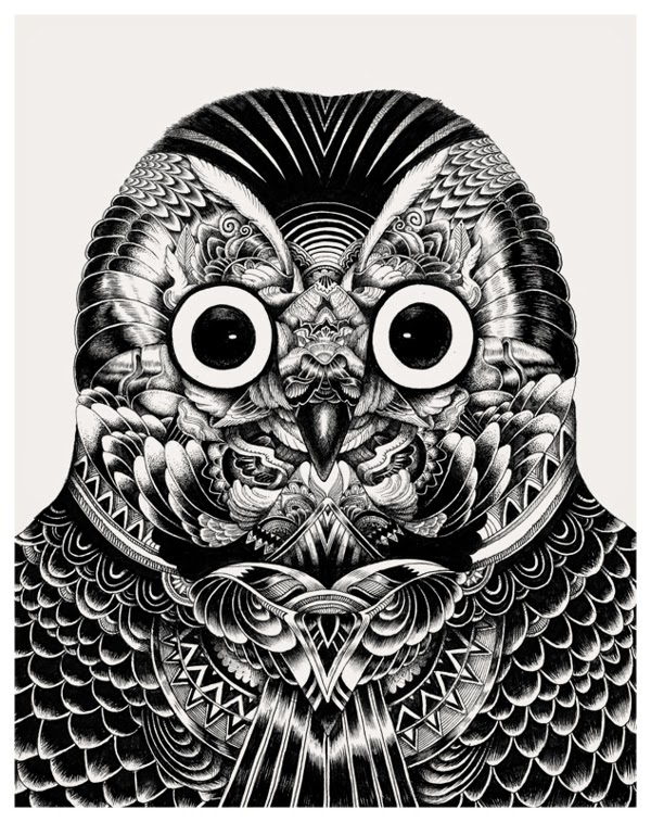 20-Iain-Macarthur-Precision-in-Surreal-Wildlife-Animals-Drawings-www-designstack-co