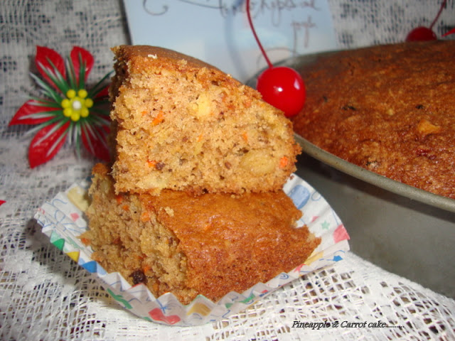 images of Pineapple Carrot Cake Recipe