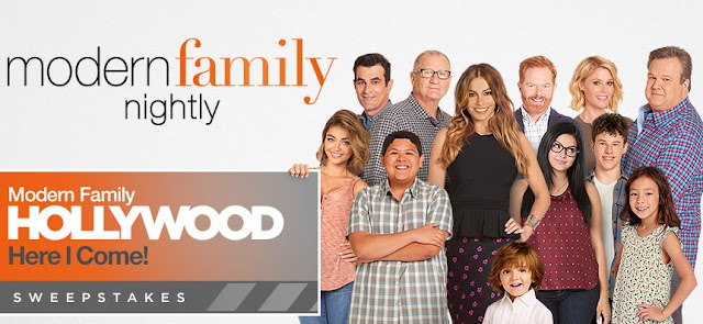 Twentieth Century Fox wants you to enter daily to win a trip for two to HOLLYWOOD where you will get to attend a script reading with the cast of the Modern Family TV show!